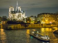 Diner on Boat along the Seine River for CRC Conference
