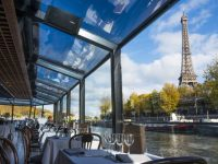 CRD Diner Seine River with Eiffel Tower View